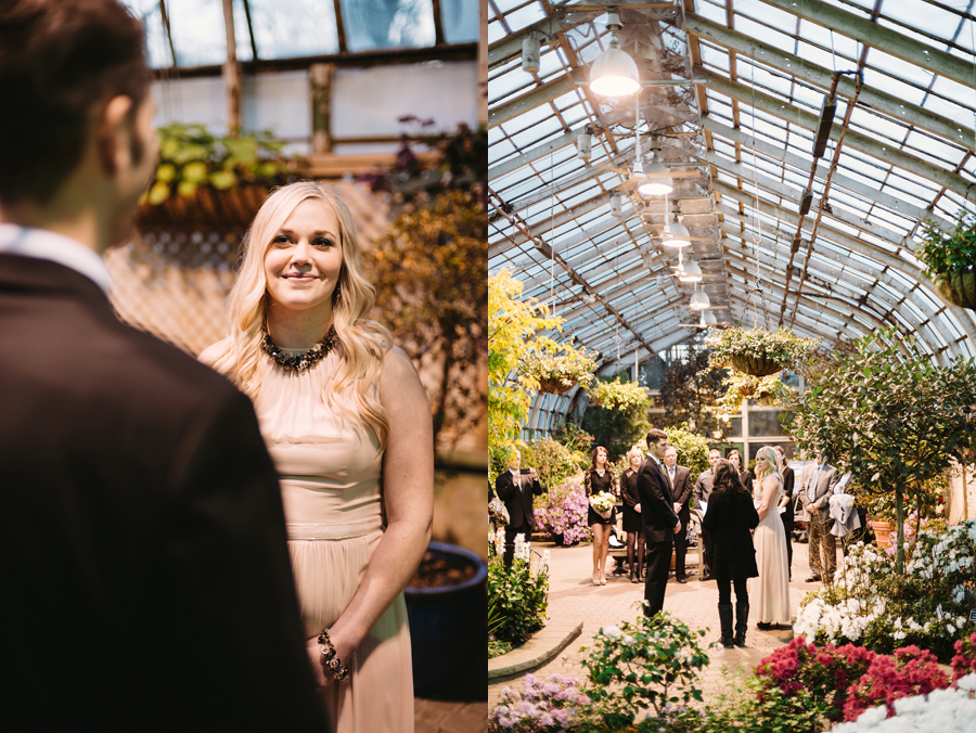 Chicago Lincoln Park Conservatory Elopement by Two Birds Photography012