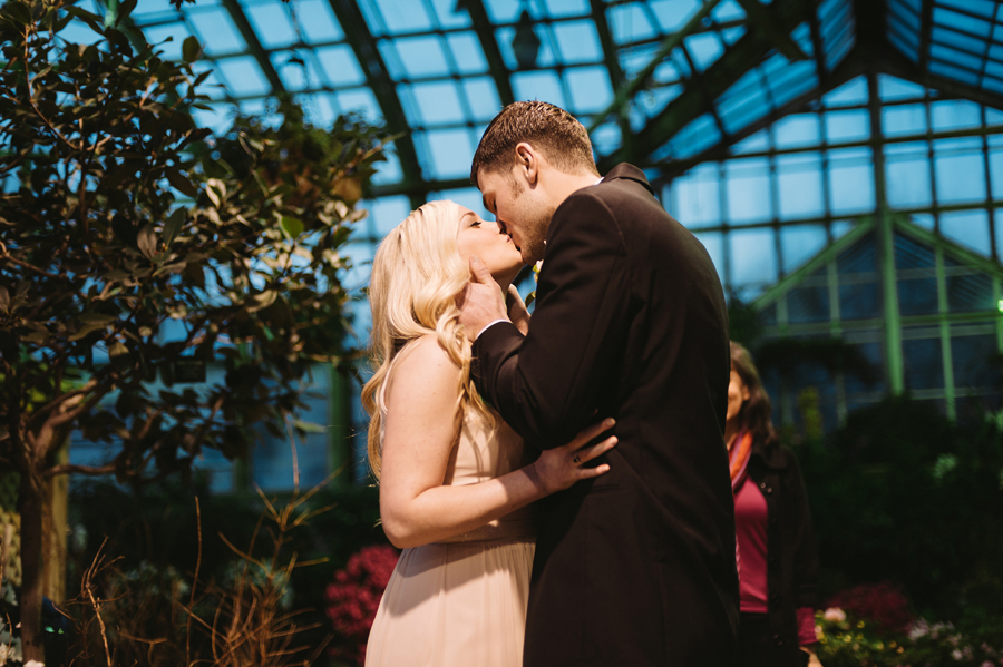Chicago Lincoln Park Conservatory Elopement by Two Birds Photography013