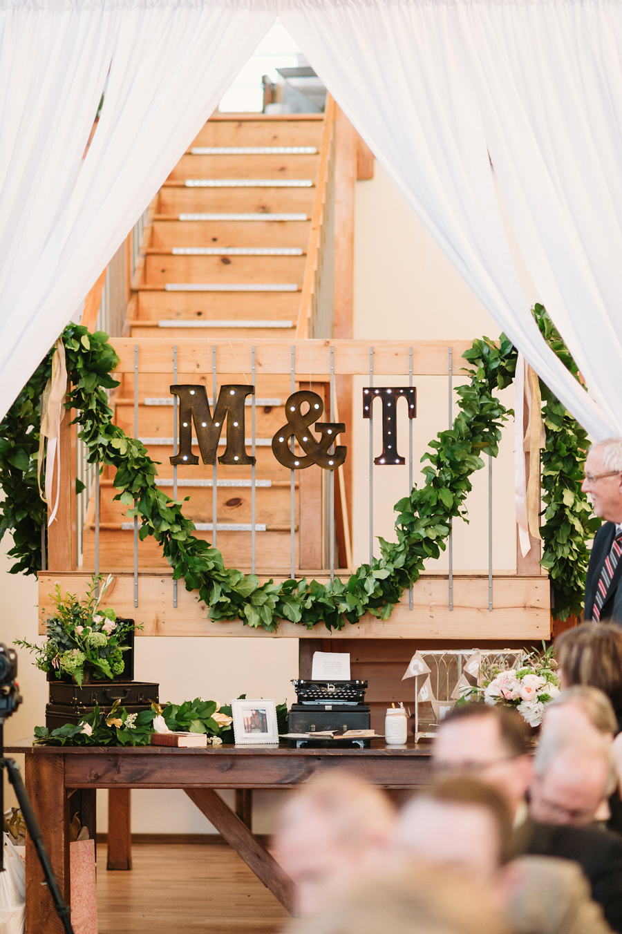 Gorgeous Vintage Rustic Glamour Chicago Wedding by Two Birds Photography026
