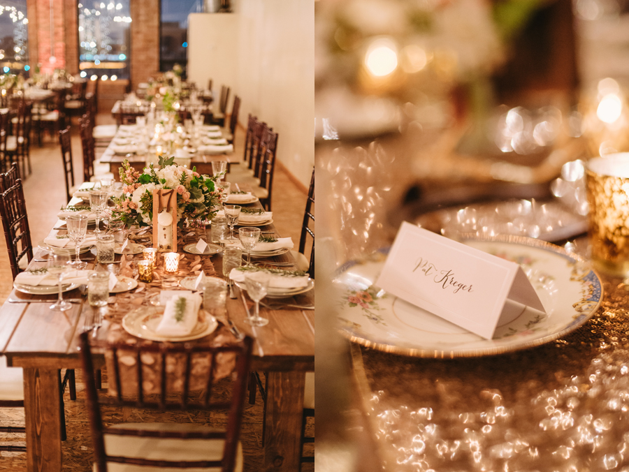 Gorgeous Vintage Rustic Glamour Chicago Wedding by Two Birds Photography035