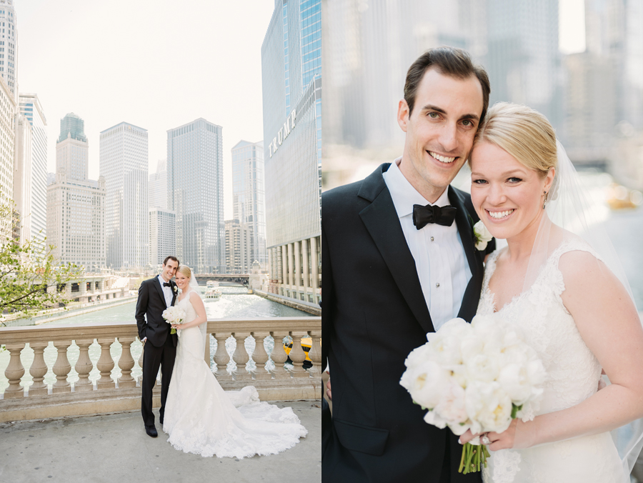 Classic Black Tie Wedding at the Racquet Club of Chicago by Two Birds Photography015