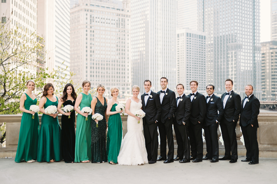Classic Black Tie Wedding at the Racquet Club of Chicago by Two Birds Photography018