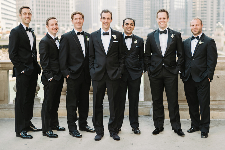 Classic Black Tie Wedding at the Racquet Club of Chicago by Two Birds Photography020