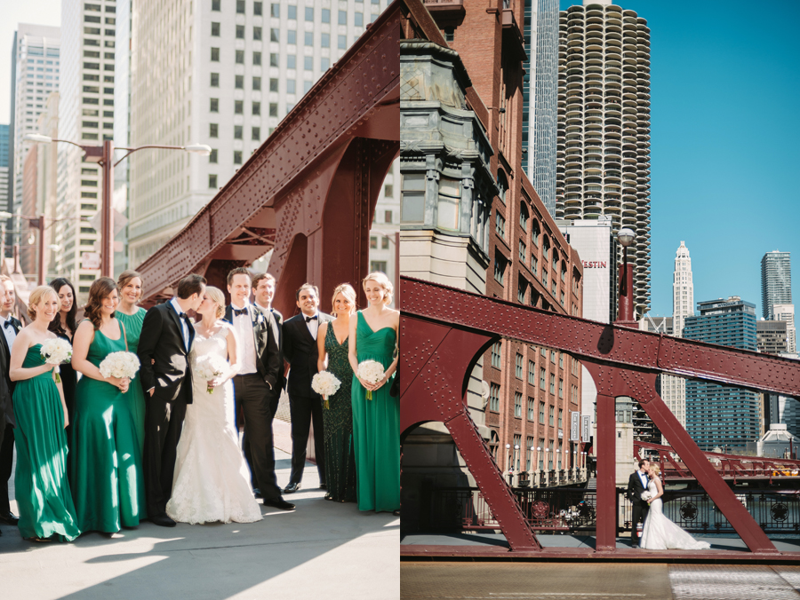 Classic Black Tie Wedding at the Racquet Club of Chicago by Two Birds Photography025