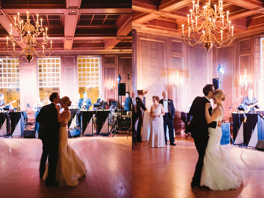 Classic Black Tie Wedding at the Racquet Club of Chicago by Two Birds Photography045