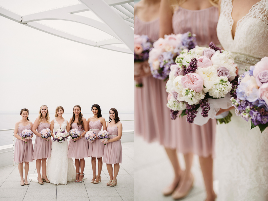 Misty Milwaukee Wedding at Discovery World by Chicago Photographers Two Birds Photography013