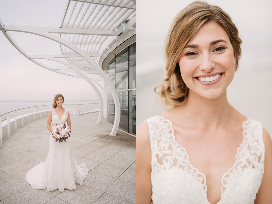 Misty Milwaukee Wedding at Discovery World by Chicago Photographers Two Birds Photography015