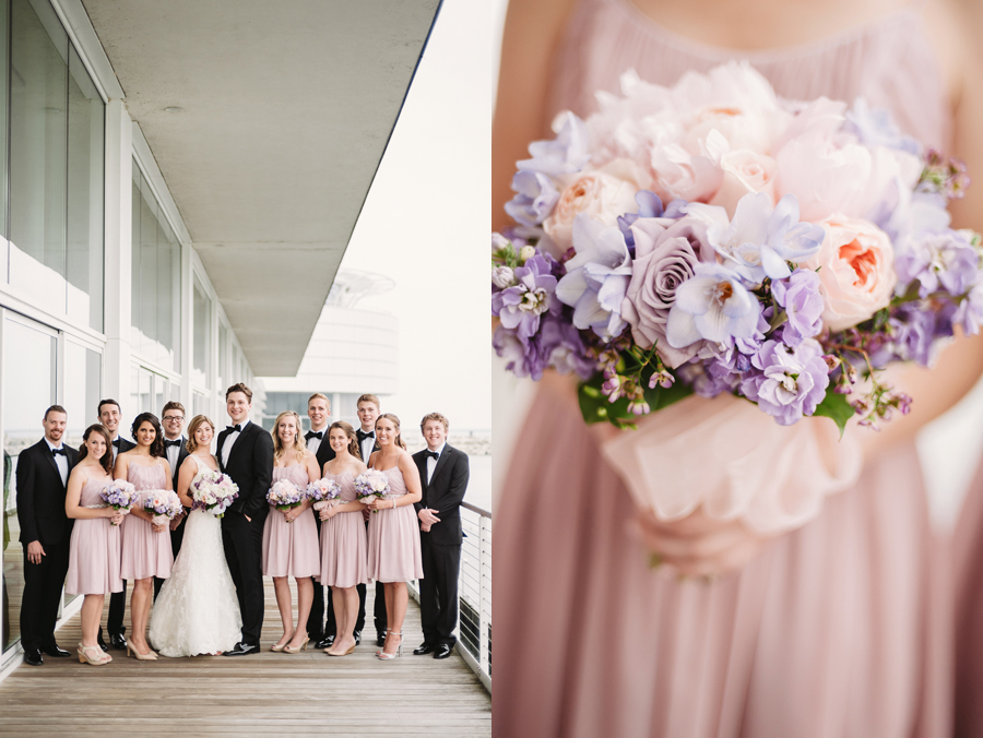 Misty Milwaukee Wedding at Discovery World by Chicago Photographers Two Birds Photography017