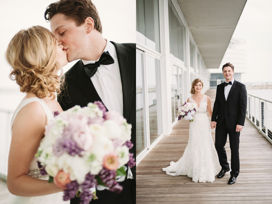Misty Milwaukee Wedding at Discovery World by Chicago Photographers Two Birds Photography018