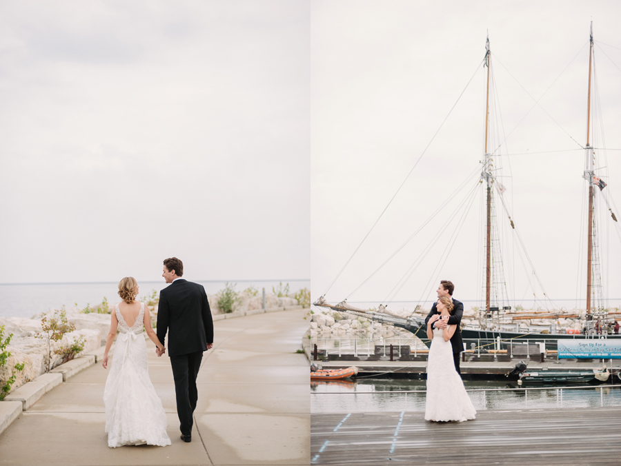 Misty Milwaukee Wedding at Discovery World by Chicago Photographers Two Birds Photography020