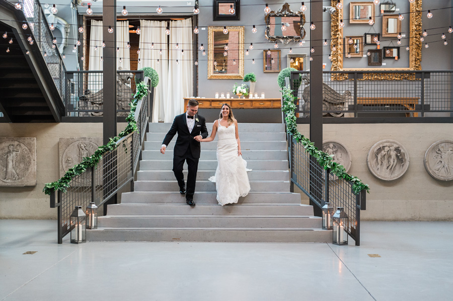 Architectural Artifacts, Chicago, Illinois. Wedding photography by Two Birds Photography. Classic, timeless, and natural light. Serving Chicago and the suburbs.