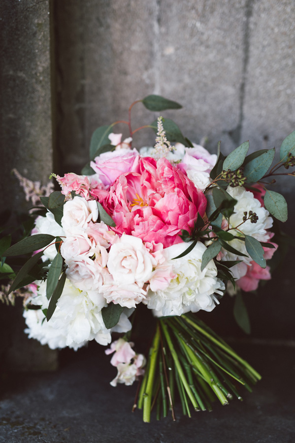 Bridal bouquet made by Ipomea.