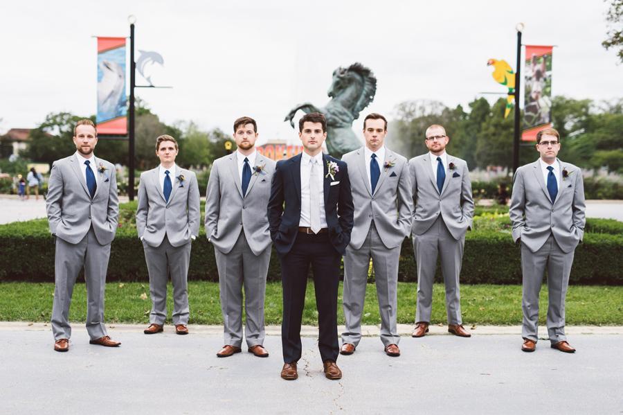 Groom and his groomsmen.
