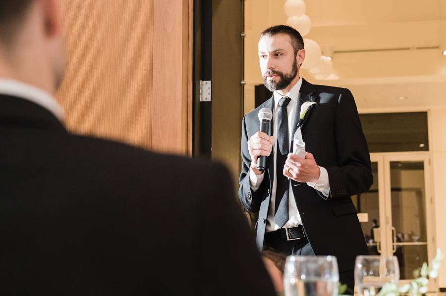 Best man speech.