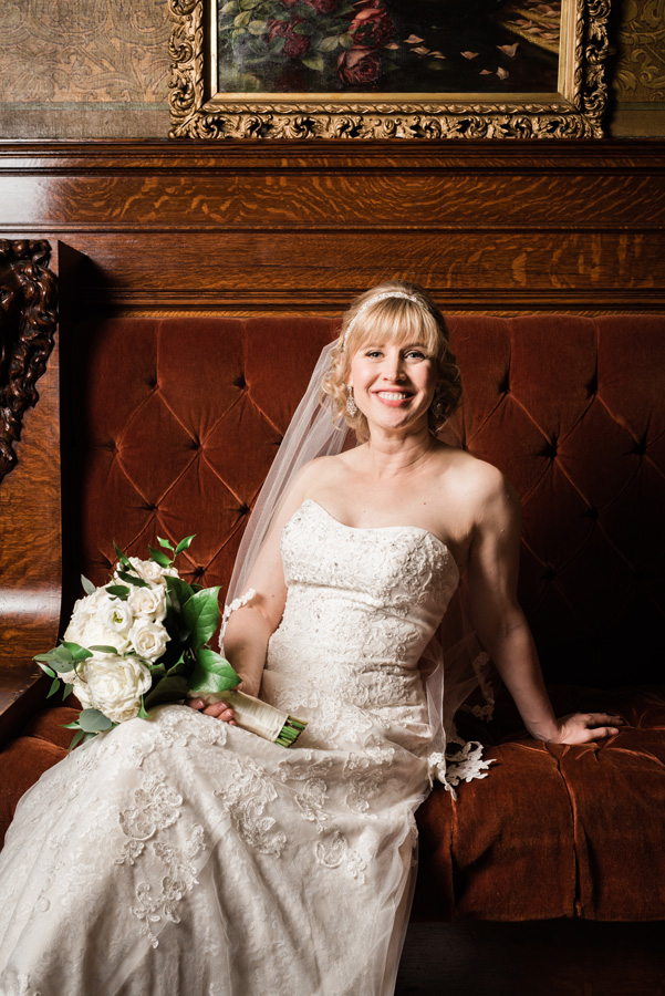 Portrait of bride at Pleasant Home.