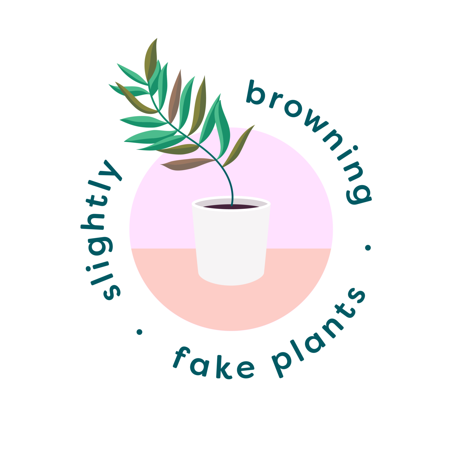 Slightly Browning Fake Plants