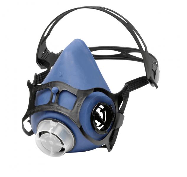 Støvmaske uden filtre monteret