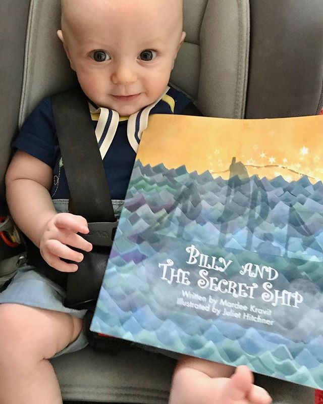 Never too young to reach out for adventure and reach out to read! Thank you Otie for the reminder!  #kidsbooks #grandparents #reach out and read #kidsreading #celebratelife