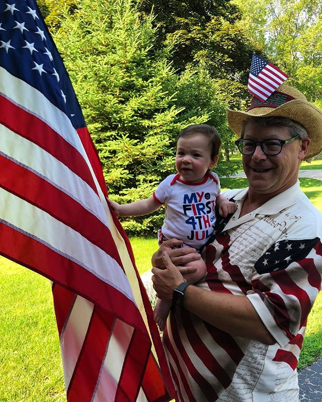 May the forth be with you.  Each moment is a first. Celebrate the forces who help us sail forth.  #firstfourth #kidsbooks #grandparents #milestones #love