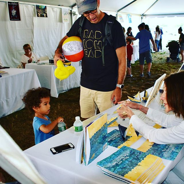 Journeys launch- never know when or where-but here they did at the East Hampton Library Children's  Fair.  Thanks to the authors, the Library, the parents and kids who captained the adventure and discovery that day.  #celebratingkids  #easthamptonlibrary  #hamptonkids  #authorevent  #newjourneys  #passingthetorch  #milestones
