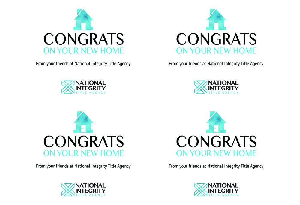 Congrats & Thank You Cards