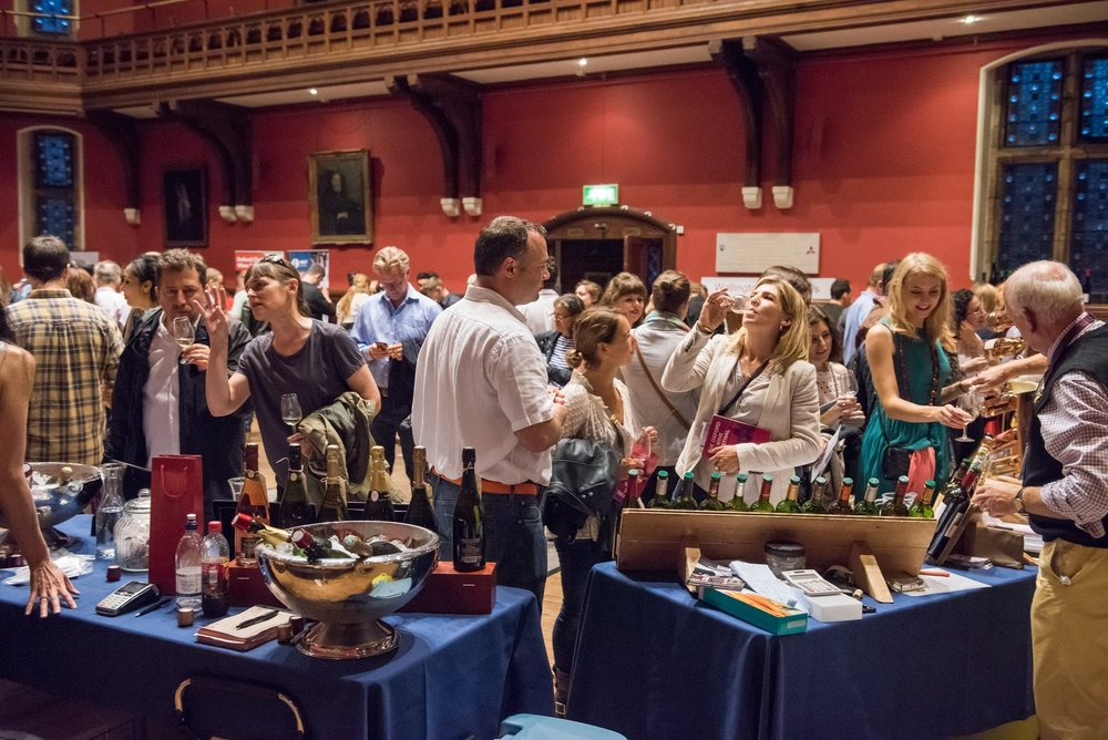 The Oxford Wine Festival gives the green light to Georgian amber wine