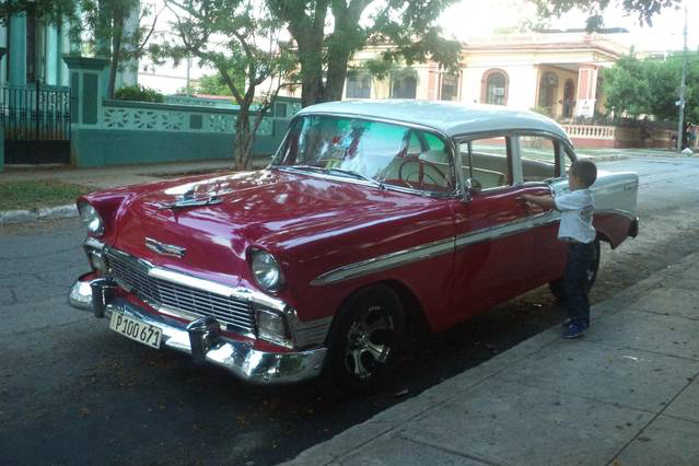 Fully restored 1957 chevy available for tours