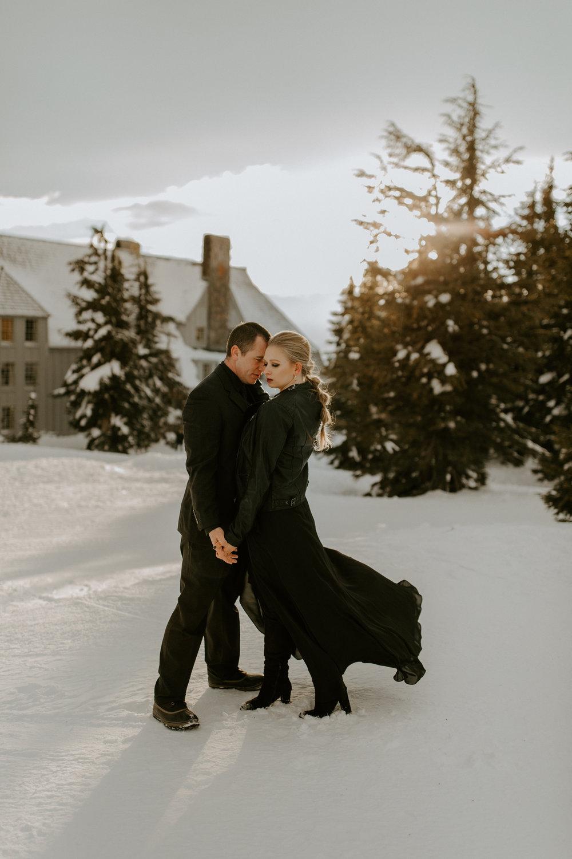untraditional oregon wedding