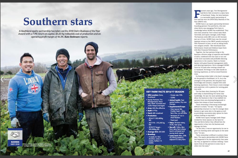 Dairy Exporter Magazine June 2018 - NZ Dairy Awards