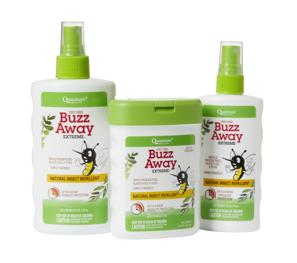 We love Buzz Away products!