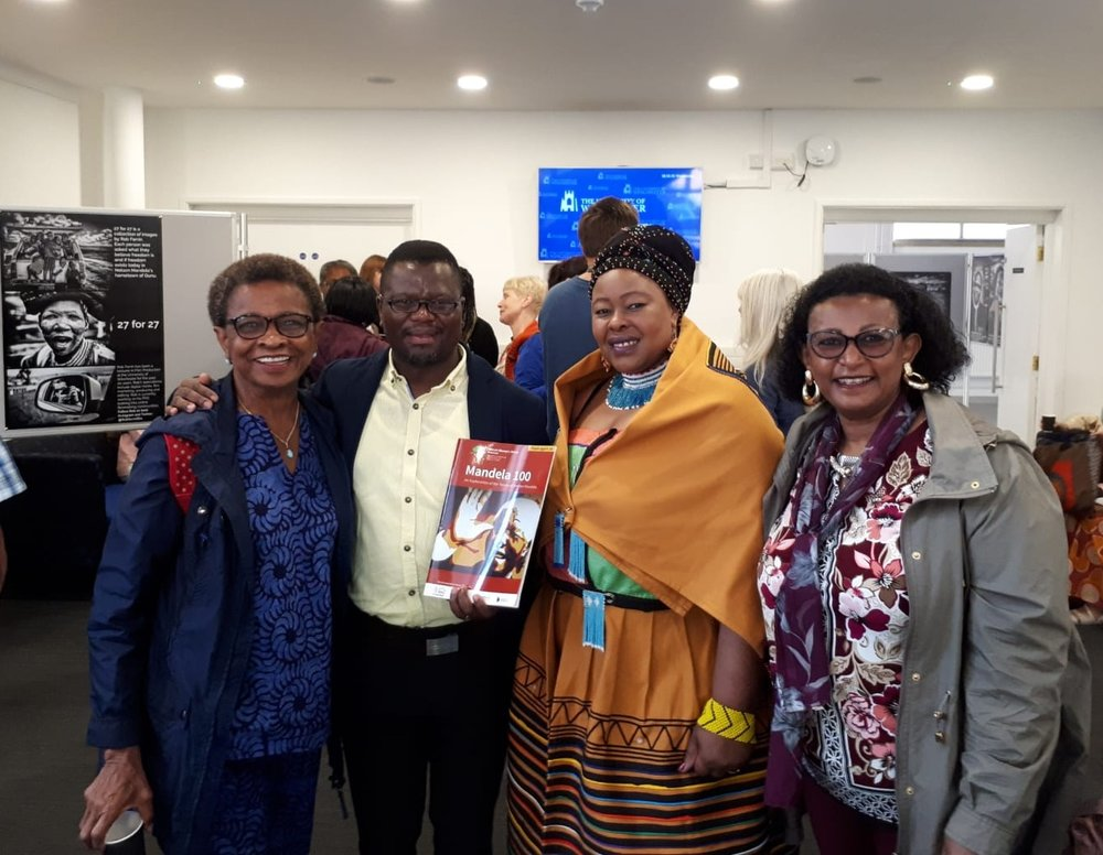 Representatives of the Mandela 100 Portsmouth Programme