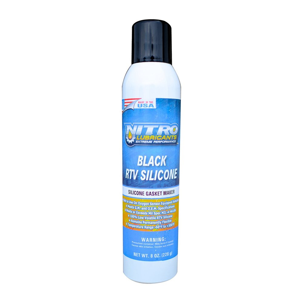 Black RTV Silicone - Nitro Lubricants