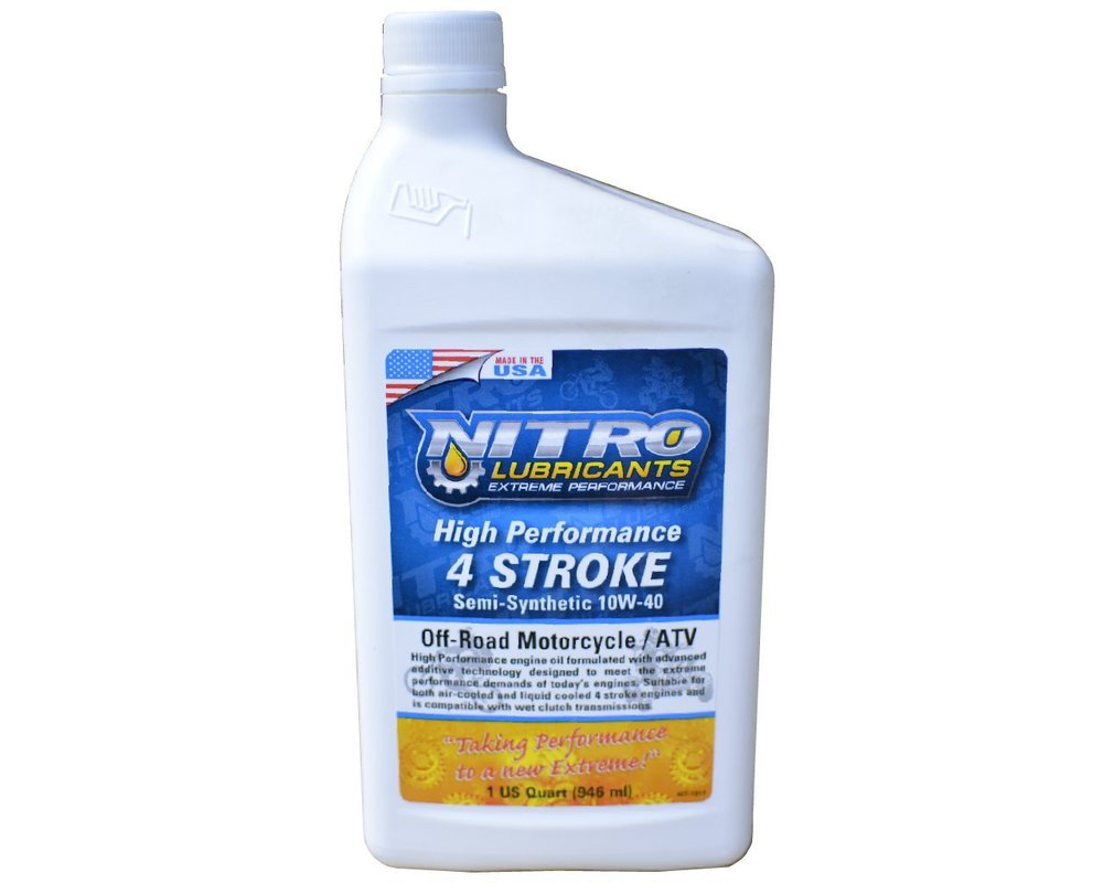 High Performance 4 Stroke Oil -  Nitro Lubricants