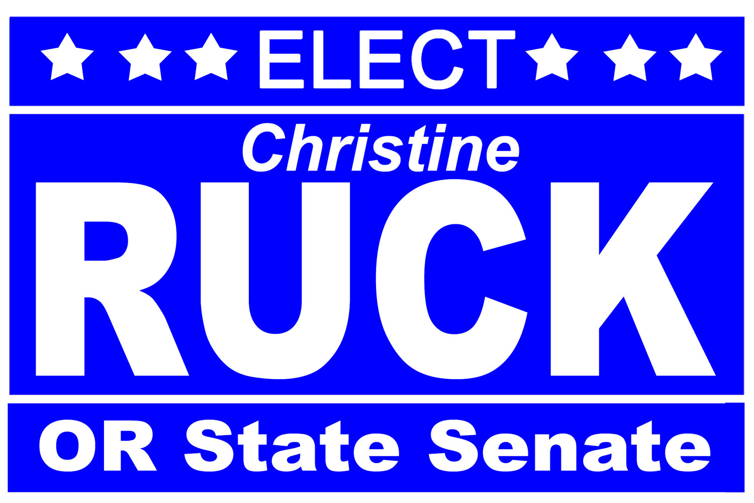 Christine Ruck for Oregon State Senate District 6