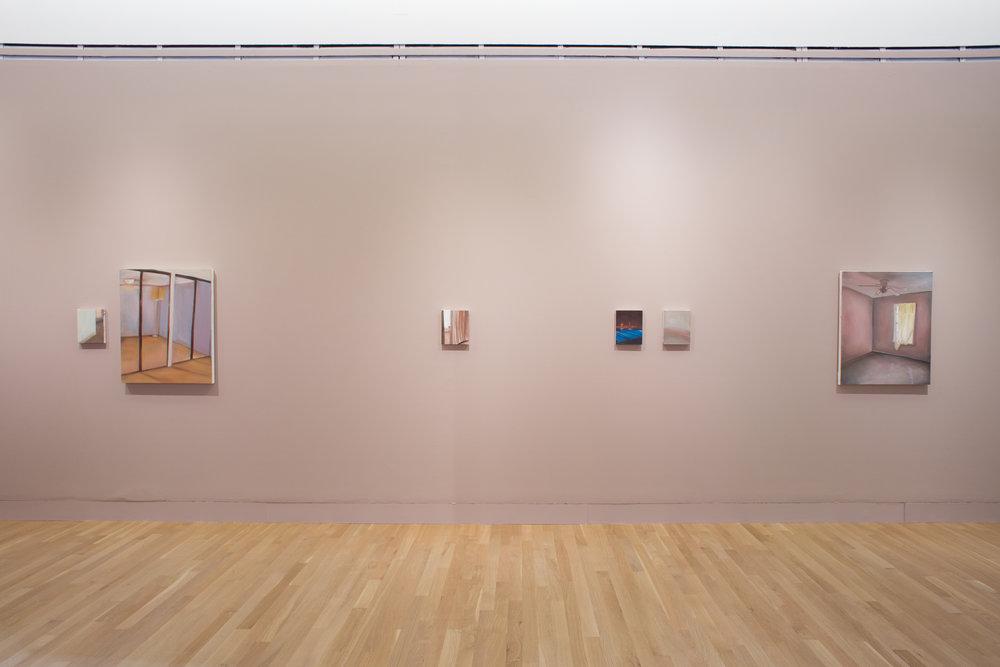 Installation view, Logan Center Gallery