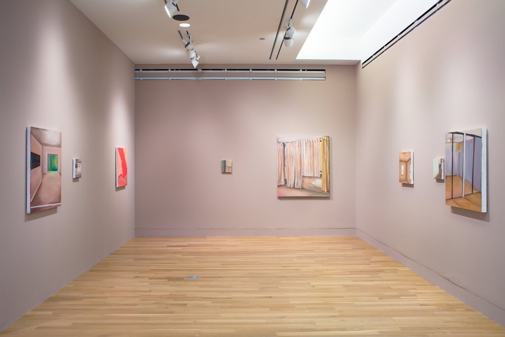 Installation view, Logan Center Gallery
