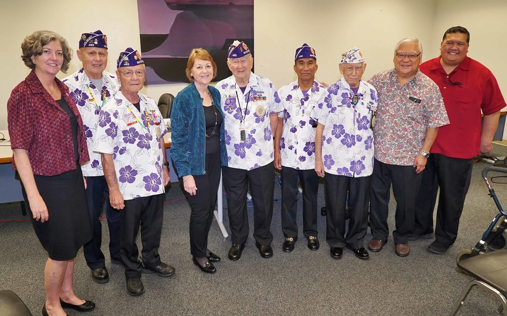 Purple Heart Day Bill passes Committee on Public Safety, Intergovernmental, and Military Affairs.  (March 20, 2018)