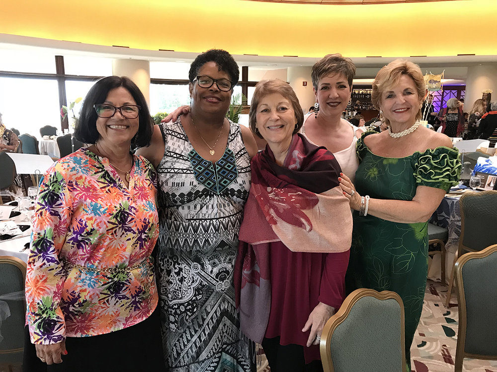 Members of the West Maui task force enjoying a girls night out to support the mission of Women Helping Women at their annual fundraiser.  (March 11, 2018)