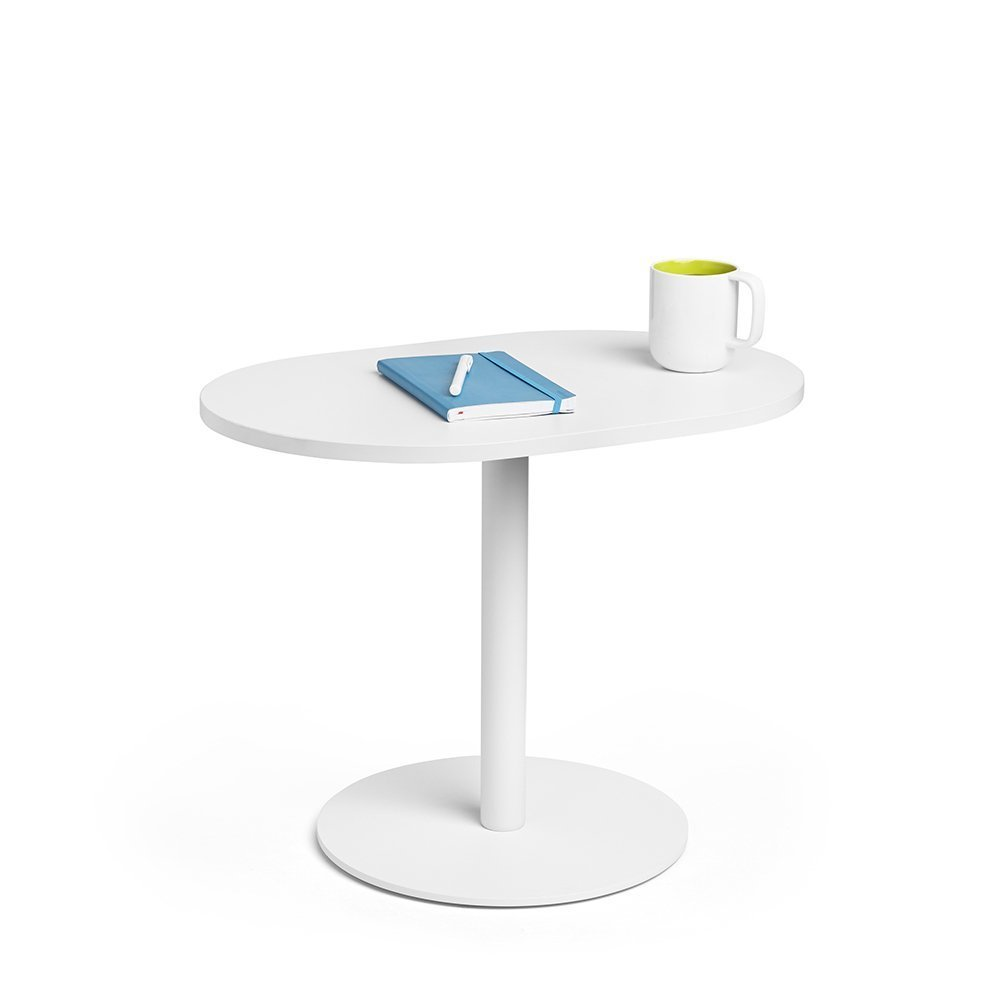 Poppin White Tucker Side Table