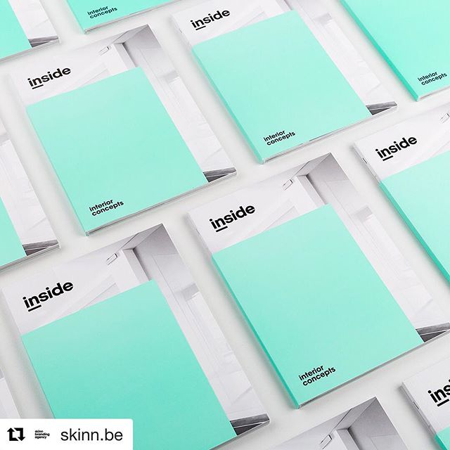 We rarely dabble in print but we sure do think it's pretty. 💥Design by @skinn.be #designinspiration