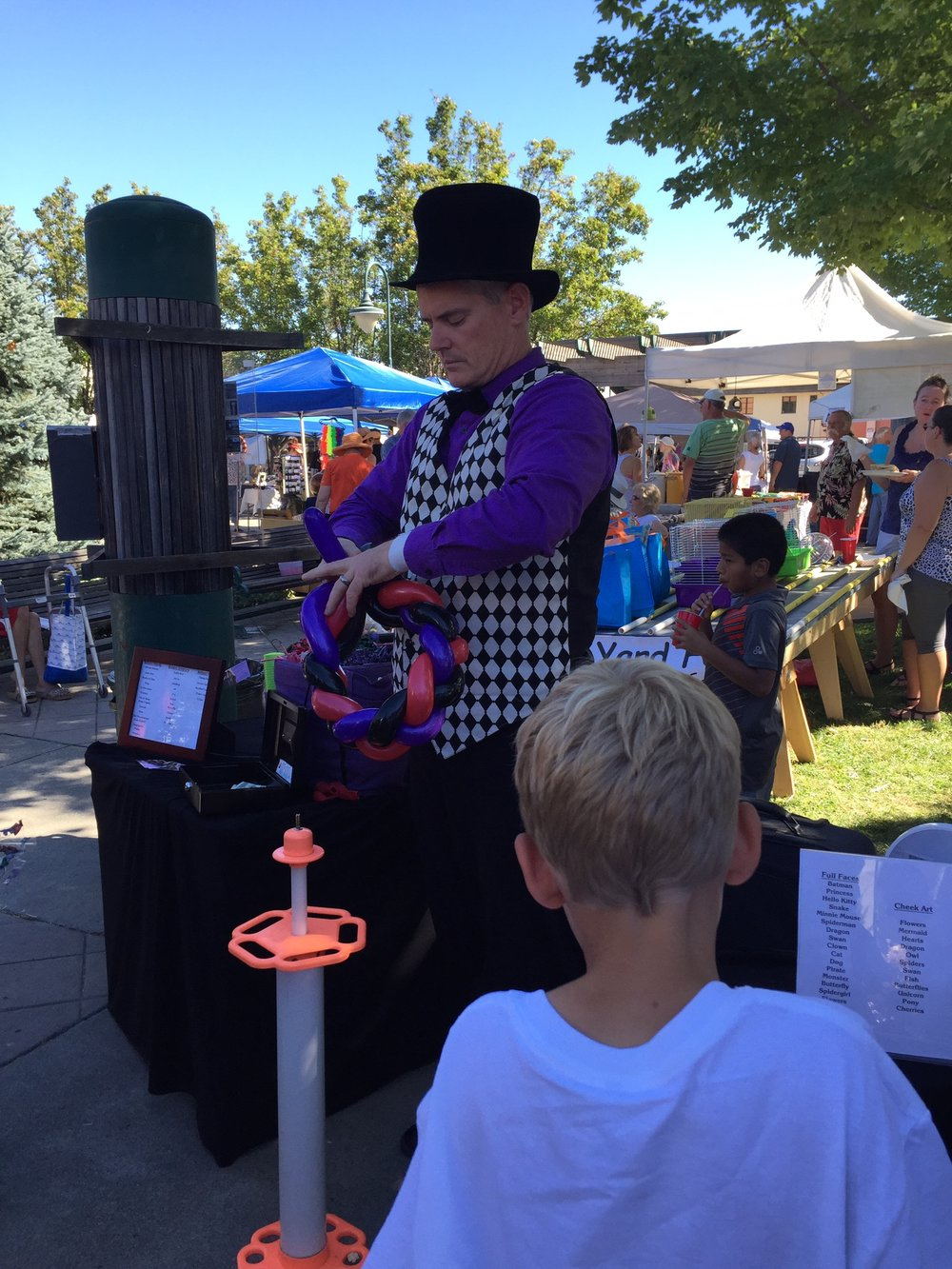 OOOPS the Clown - Don't miss out on one of Ooops the Clown's amazing balloon twisting creations and magic show.