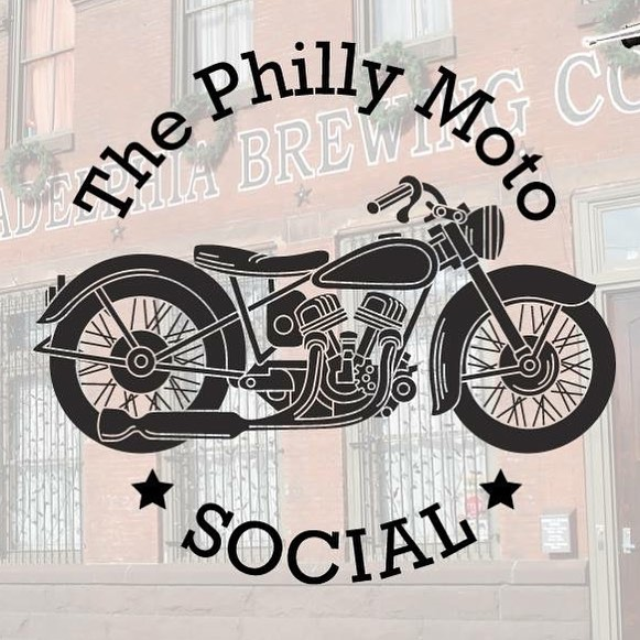 It's Sunday - it's cool - it's overcast - it's the #phillymotosocial day!  We'll be there all day. You better be too.