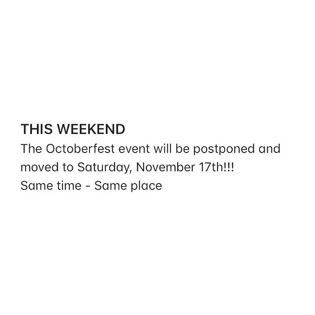 Heads up on this weekends event.  Ride safe!!!