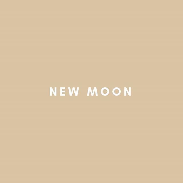 Happy New Moon y'all 🌚🌕 .  Do you have any new moon rituals that support & nourish you during these times? . I see new moons as a reminder to go inward. To reflect on lessons/insights gained in the past cycle, to be intentional with my thoughts/actions & to allow myself the space to release thoughts/feelings/actions that are no longer serving my growth . This looks like journaling, meditating, day dreaming, chatting with those close to me and sleeping 😌 . What are your plans for this magical day of new beginnings? ✨