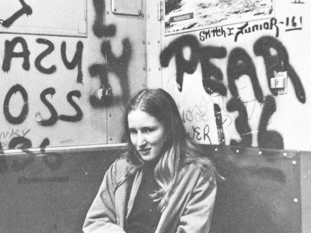Me at 14, on the 2 train…