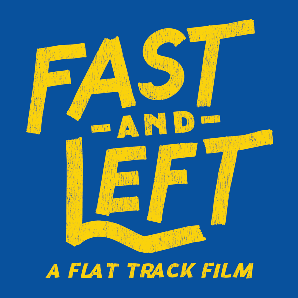 Tayler Fast  designed the Fast and Left logo treatment.
