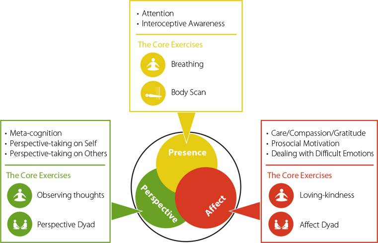 Differential Effects of Attention-, Compassion-, and Socio-Cognitively Based Mental Practices on Self-Reports of Mindfulness and Compassion Lea K. Hildebrandt, Cade McCall, and Tania Singer