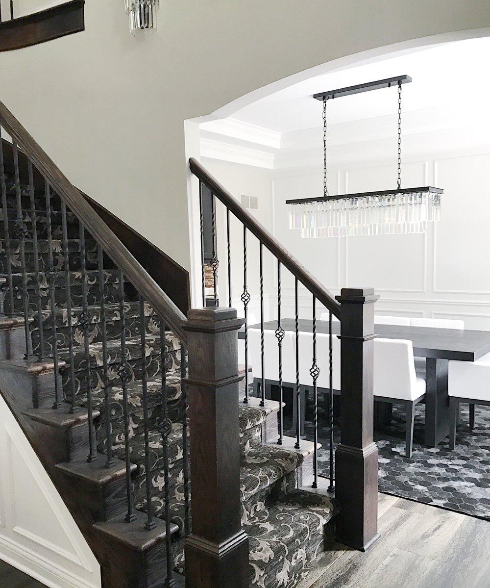 clarkston interior design entryway