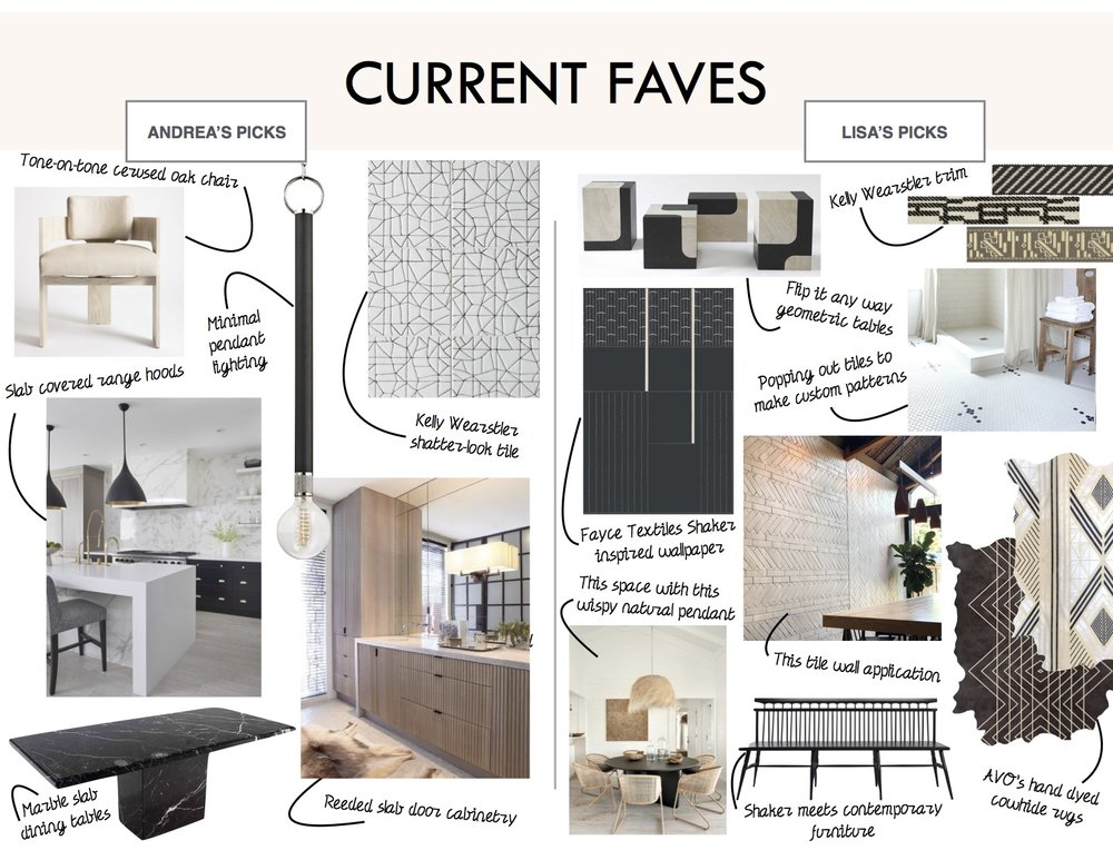 May interior design monthly favorites