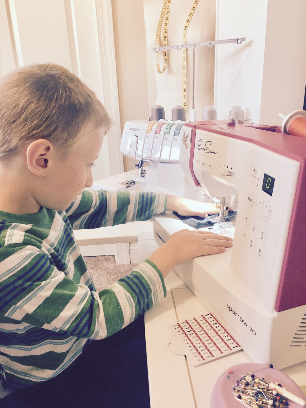Our machines have been designed for beginners both adults and children, giving students the confidence to explore new skills at their own pace. -